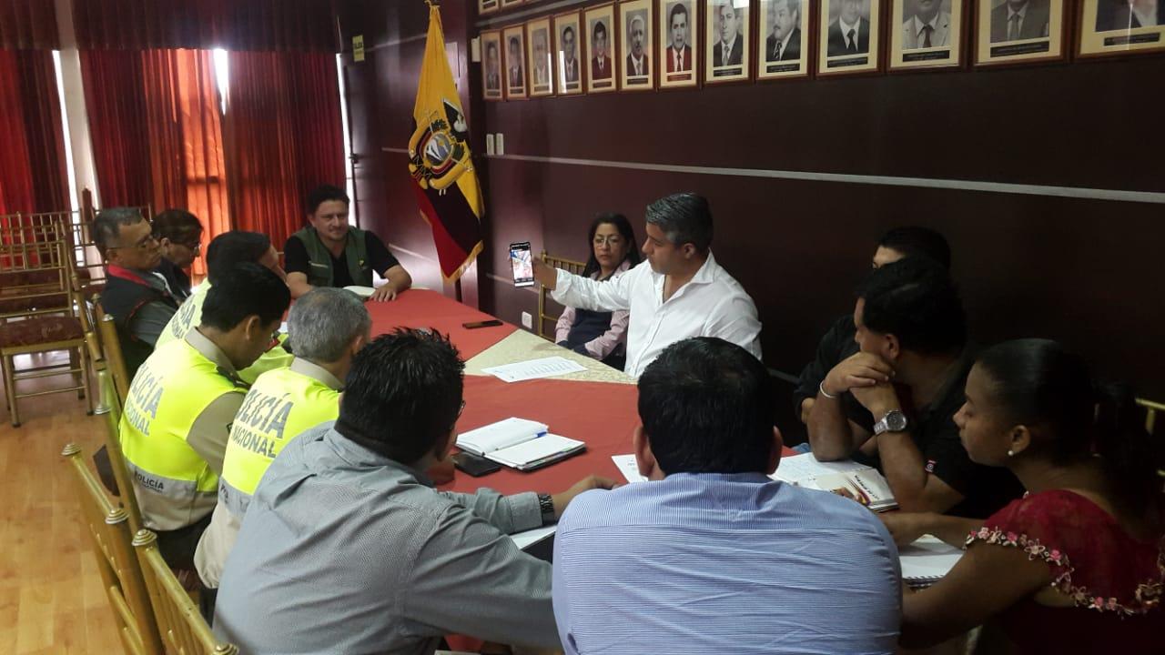 """Gobernador Maridueña lo exigió ante denuncia de violación se sellos  ARCOM insiste en prohibir la  actividad minera en """"El Guayabo"""""""