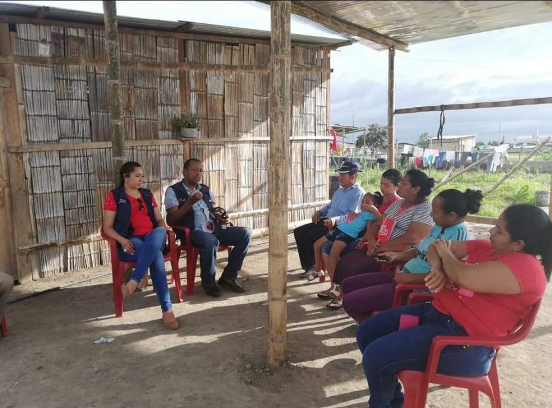 Coordinan Jefatura Política y Comisaría Nacional de Huaquillas  Se conforma Comité Familiar  de Seguridad Ciudadana  *Estará vigente desde el próximo 4 de abril