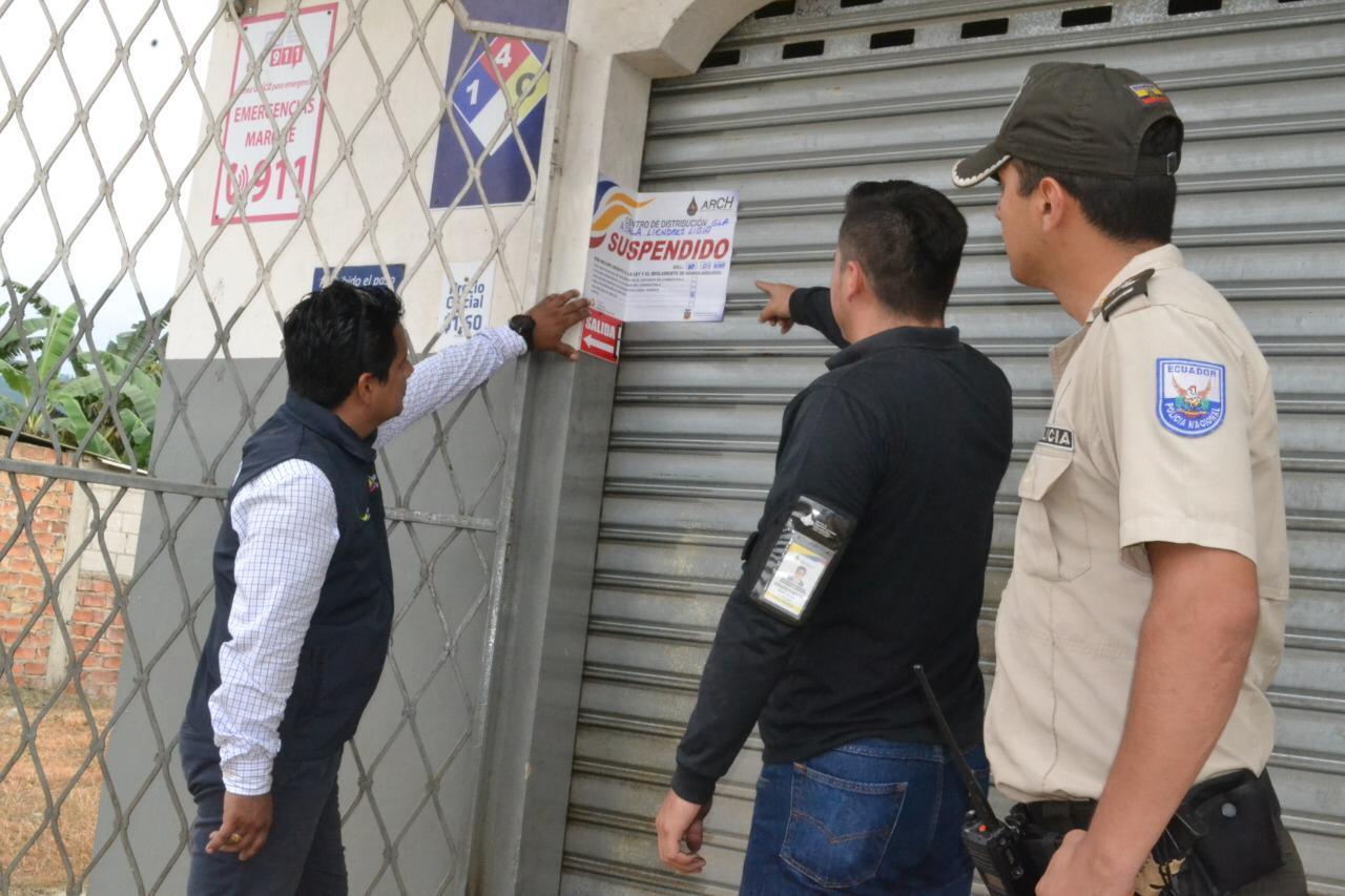 Otra distribuidora es suspendida de sus actividades por incumplir con el precio oficial del GLP
