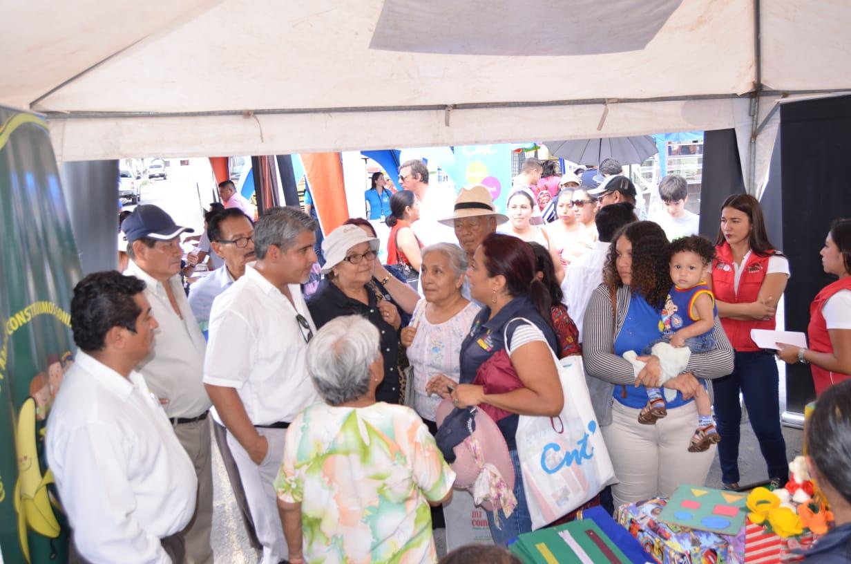 El barrio 3 de Noviembre de Machala recibió a las Brigadas Toda Una vida