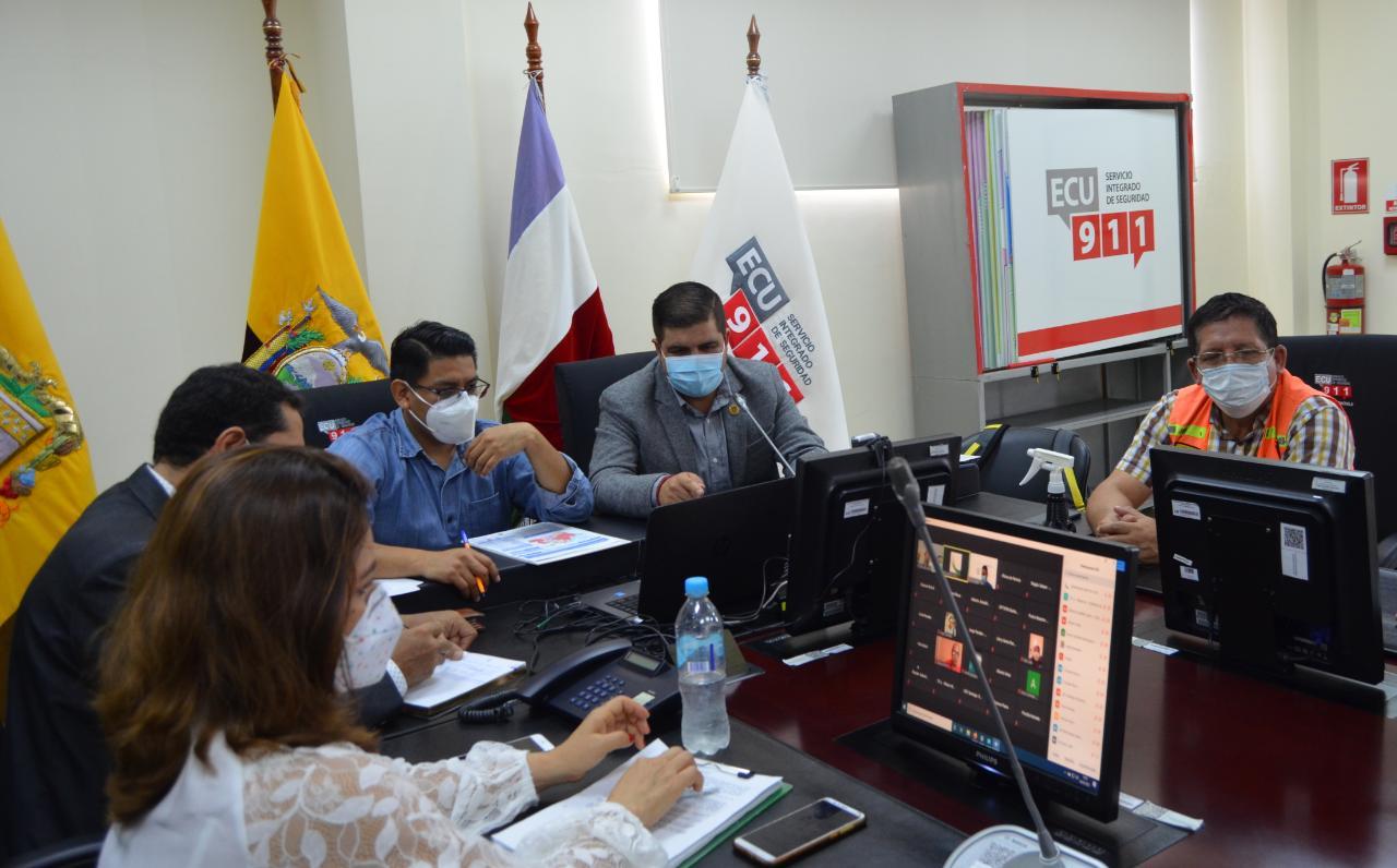 En reinstalación del COE provincial de El Oro se analizó nuevas resoluciones nacionales para enfrentar al covid-19