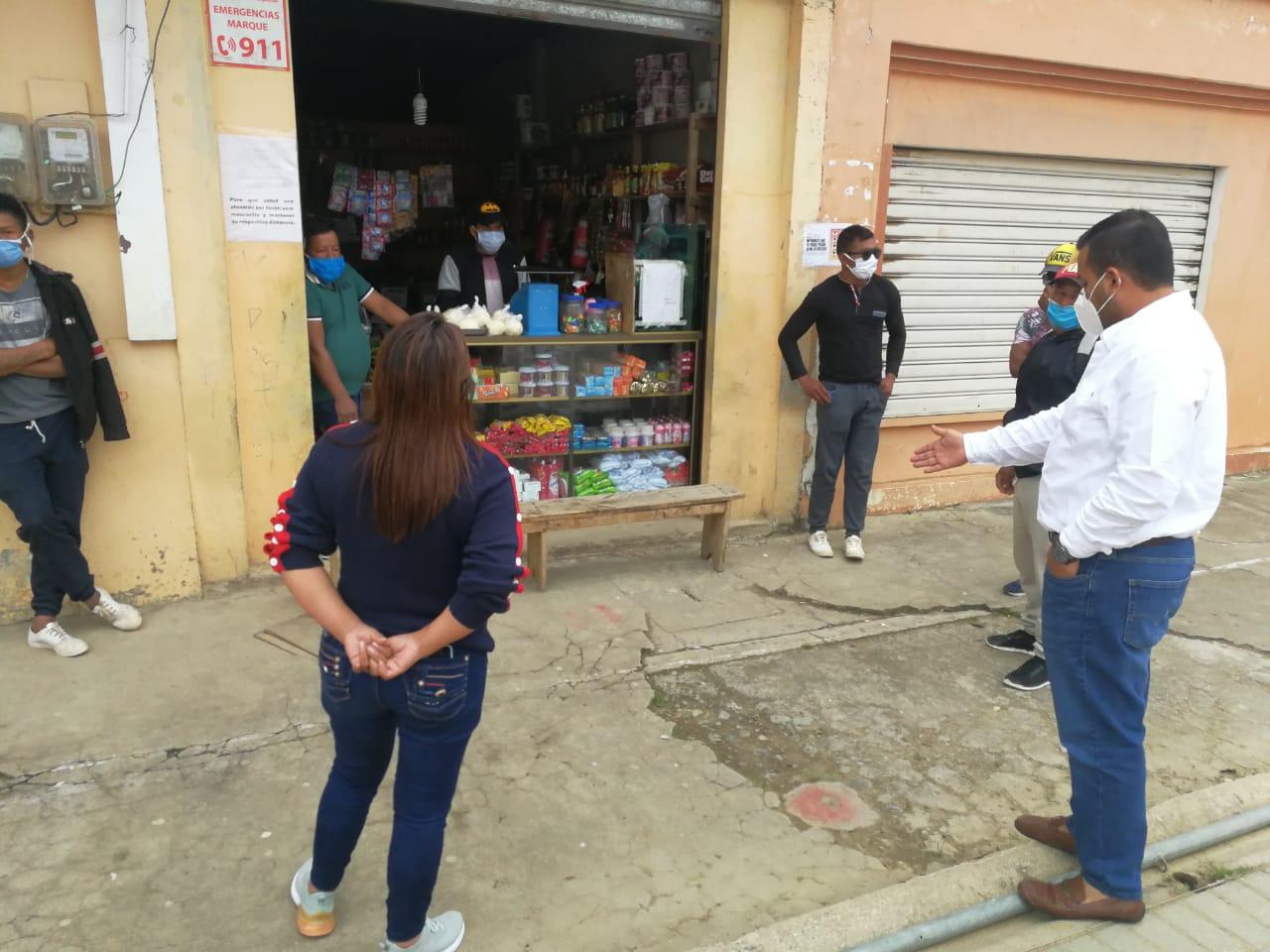 Intendente (E) Castillo refuerza el control de bioseguridad y distanciamiento social en Chilla