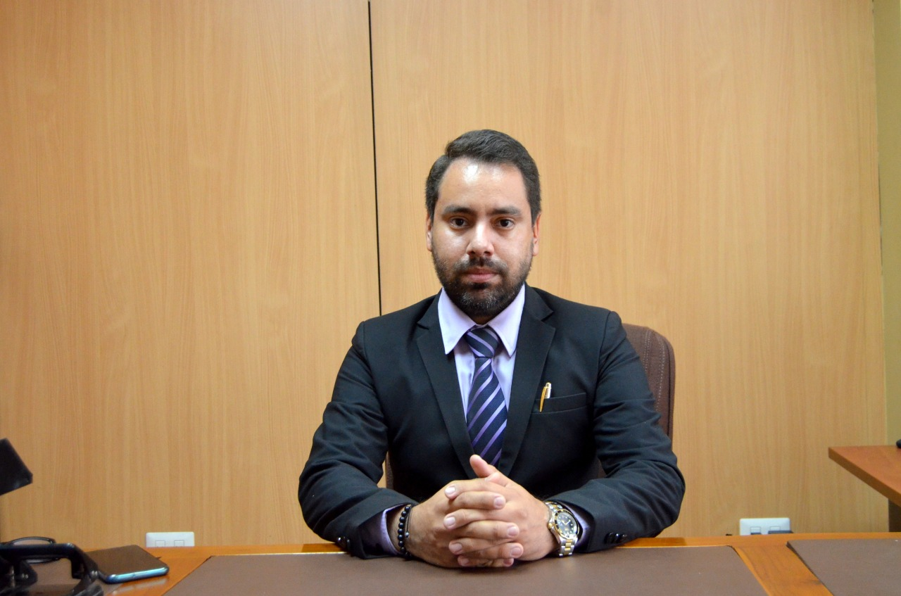 Roland Crespo, nuevo Intendente de Policía de El Oro