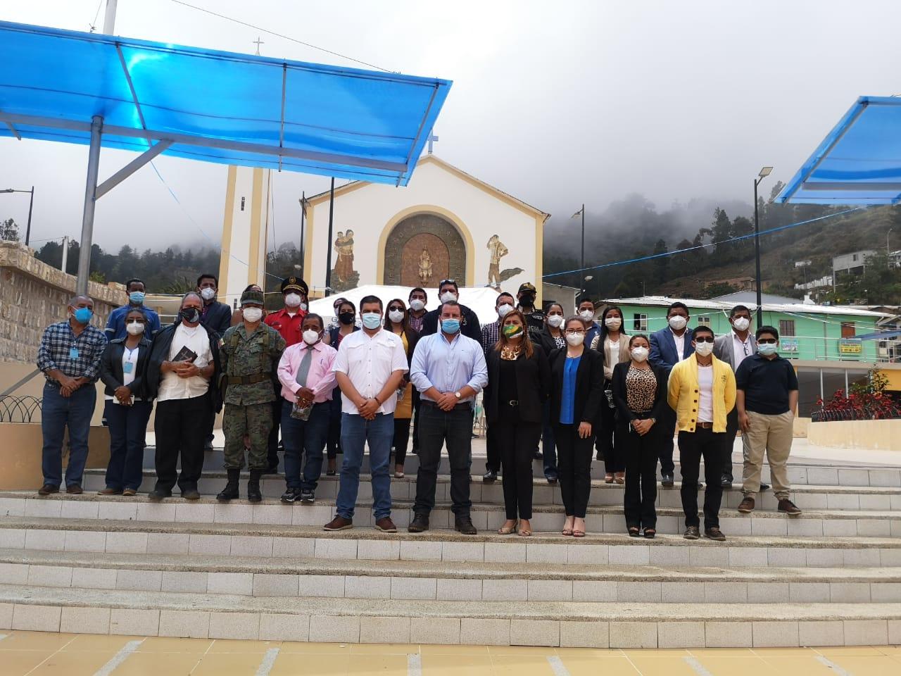 Gobernador trabajó en Chilla junto a autoridades de esa jurisdicción