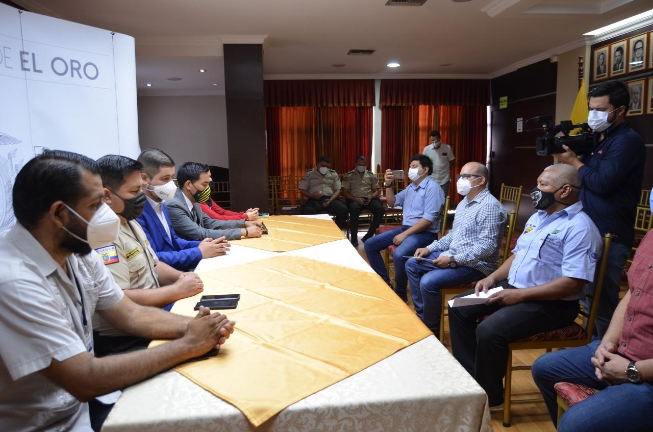 Con aporte de la población se coordinan acciones de seguridad para Machala