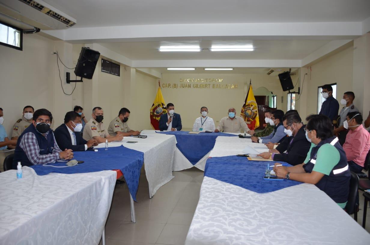 Fortalecimiento de operativos y seguimiento a la mesa de movilidad Humana se resolvió en mesa de trabajo presidida por Viceministro de Gobierno