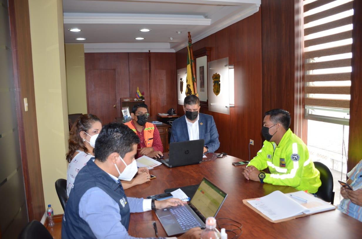 COE El Oro trabaja para reforzar acciones frente al covid-19