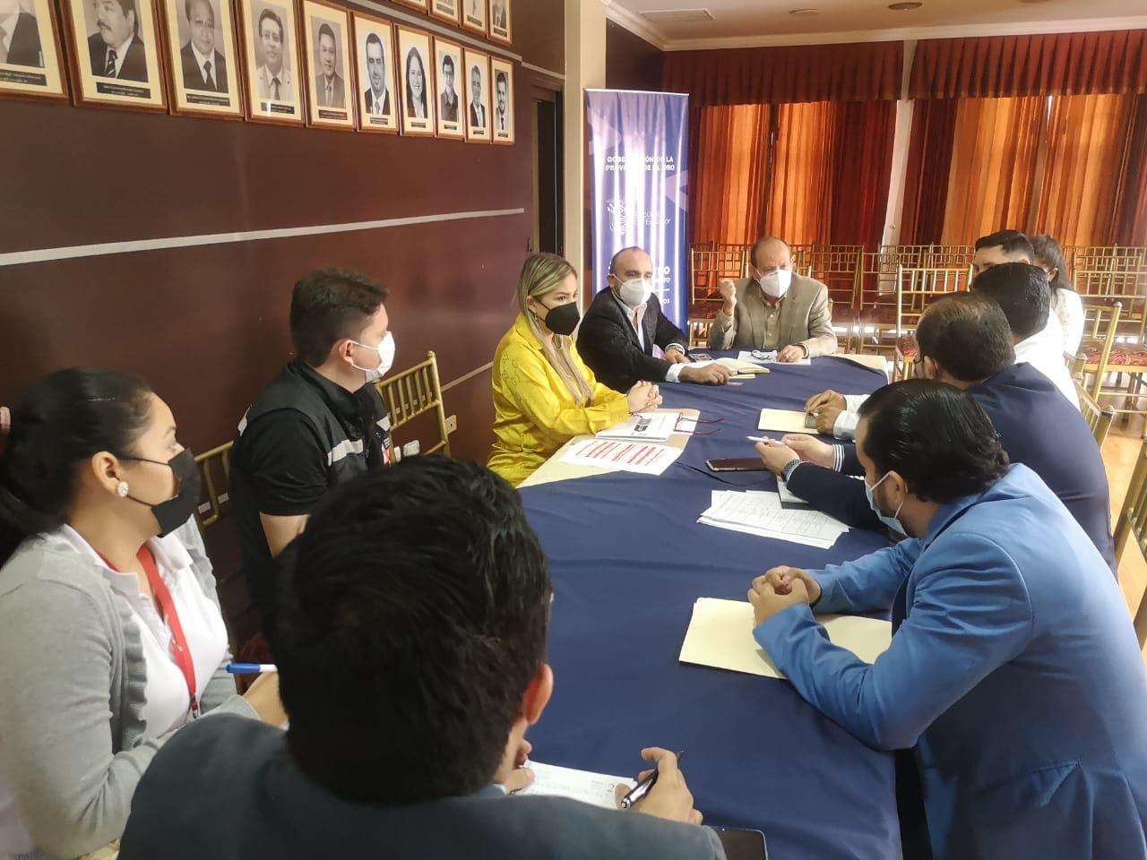 Gobernador Vera articula acciones con autoridades provinciales por el tema de seguridad ciudadana