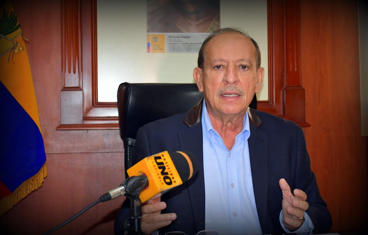 GOBERNADOR VERA PIDE A CIUDADANOS CONTINUAR CON LAS MEDIDAS DE SEGURIDAD
